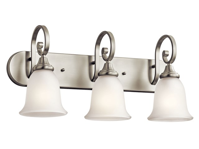 Monroe™ 3 Light Vanity Light Brushed Nickel