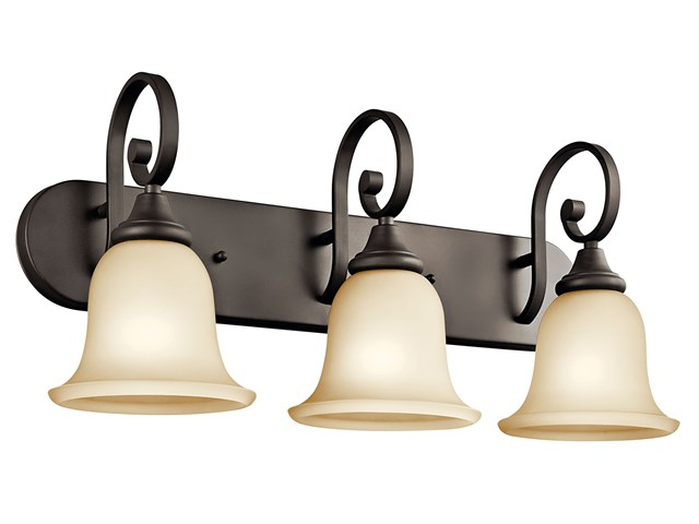 Monroe™ 3 Light Vanity Light Olde Bronze®