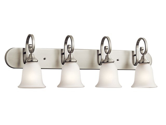 Monroe™ 4 Light Vanity Light Brushed Nickel