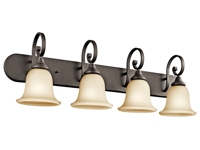 Monroe™ 4 Light Vanity Light Olde Bronze®