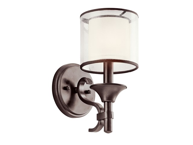 Lacey™ 1 Light Wall Sconce Mission Bronze