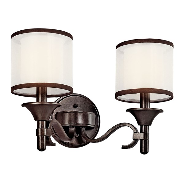 Lacey™ 2 Light Vanity Light Mission Bronze