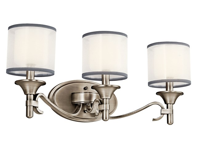 Lacey™ 3 Light Vanity Light Antique Pewter