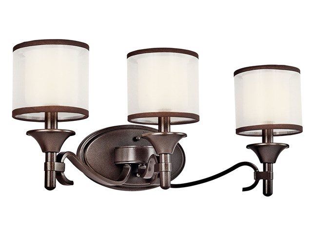 Lacey™ 3 Light Vanity Light Mission Bronze