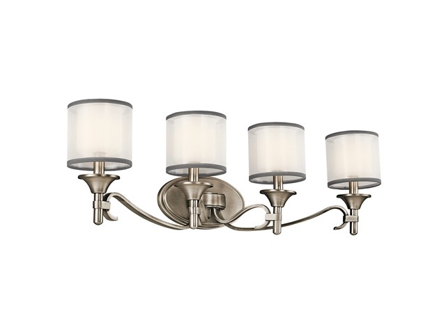 Lacey™ 4 Light Vanity Light Antique Pewter