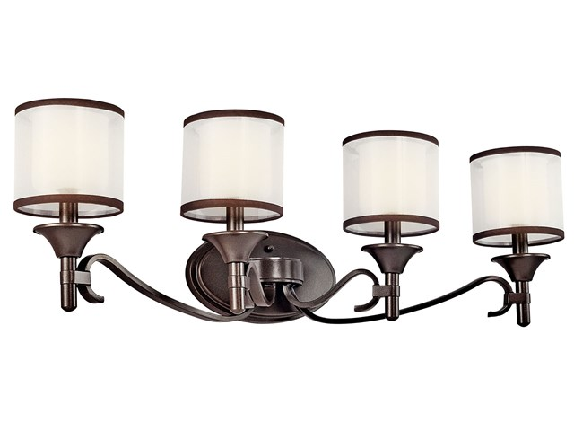 Lacey™ 4 Light Vanity Light Misson Bronze