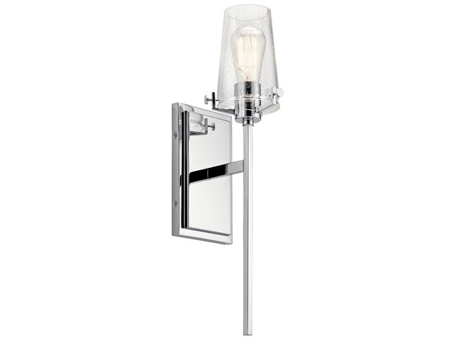 Alton 1 Light Wall Sconce Chrome