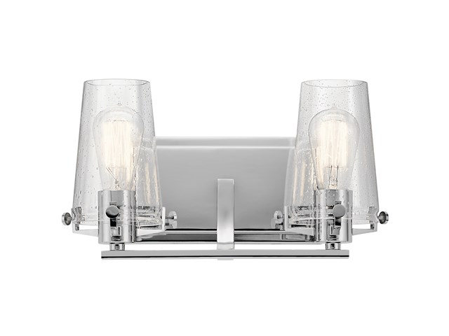 Alton 2 Light Vanity Light Chrome