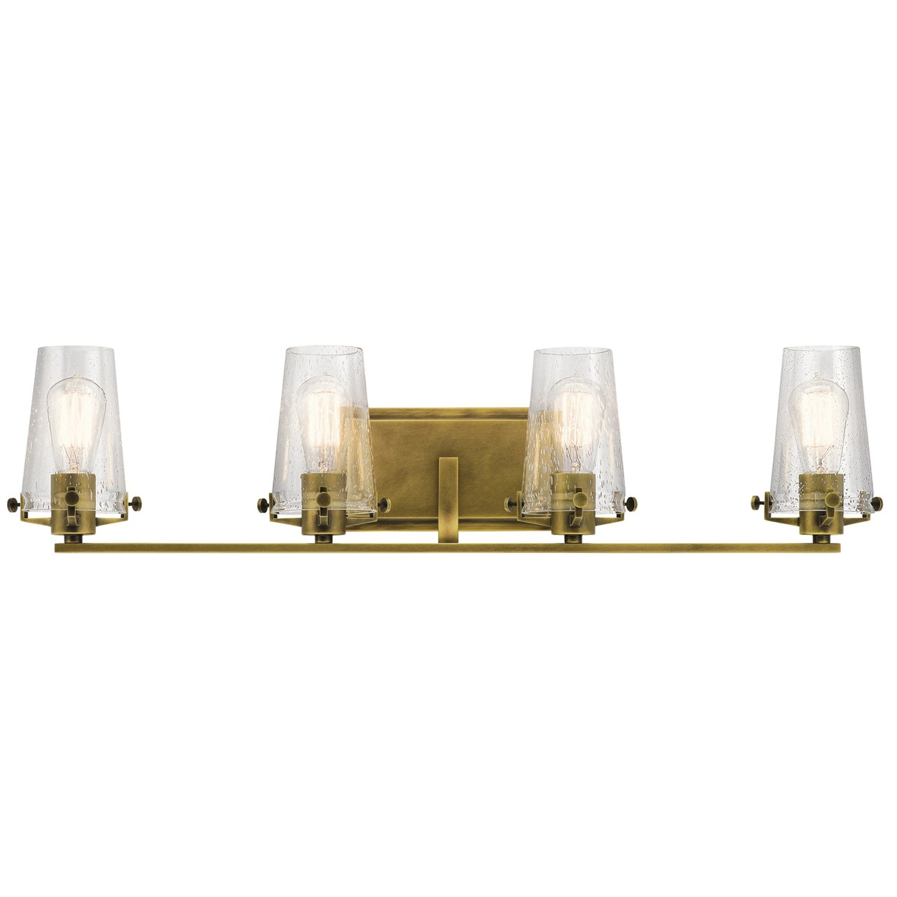 Alton™ 4 Light Vanity Light Natural Brass