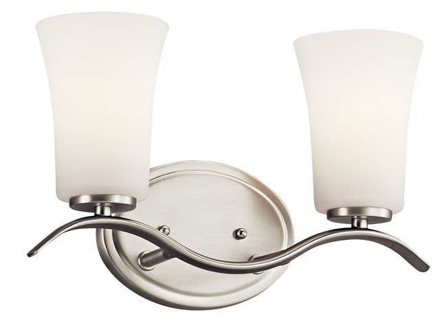 Armida™ 2 Light Vanity Light Brushed Nickel