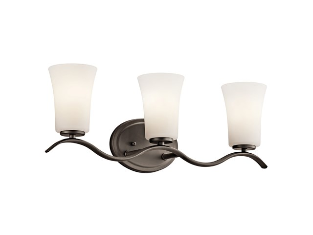 Armida™ 3 Light Vanity Light with LED Bulbs Olde Bronze®