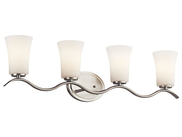 Armida™ 4 Light Vanity Light Brushed Nickel