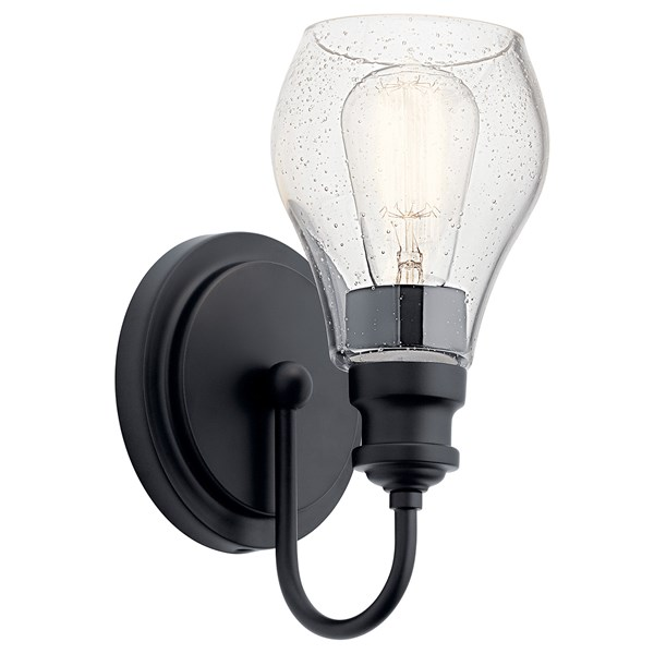 Greenbrier™ 1 Light Wall Sconce Black