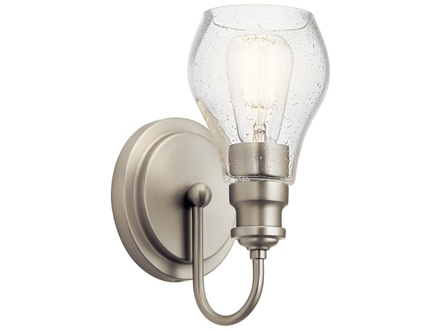 Greenbrier™ 1 Light Wall Sconce Nickel