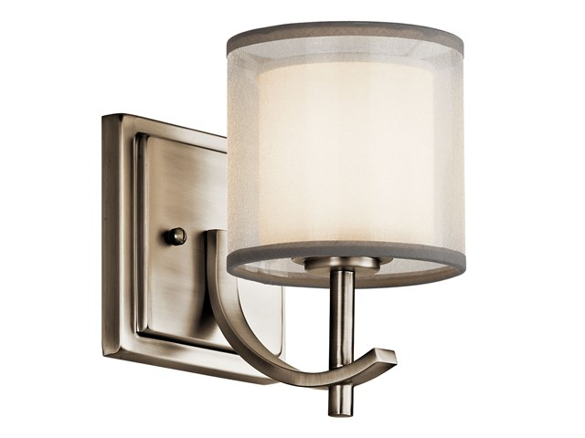 Tallie™ 1 Light Wall Sconce Antique Pewter