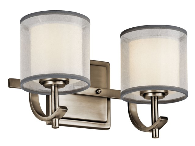 Tallie™ 2 Light Vanity Light Antique Pewter