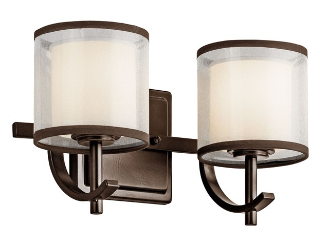 Tallie™ 2 Light Vanity Light Mission Bronze
