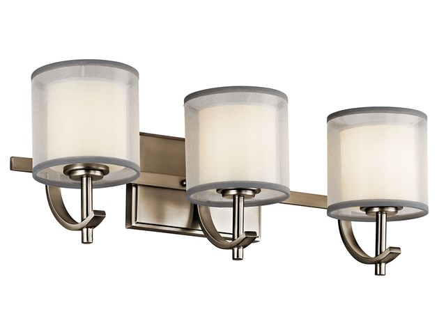 Tallie™ Vanity Light 3 Light Antique Pewter