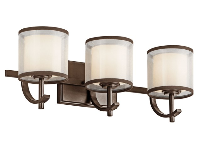 Tallie™ Vanity Light 3 Light Mission Bronze