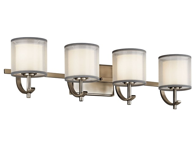 Tallie™ 4 Light Vanity Light Antique Pewter