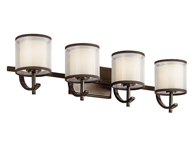 Tallie™ 4 Light Vanity Light Mission Bronze