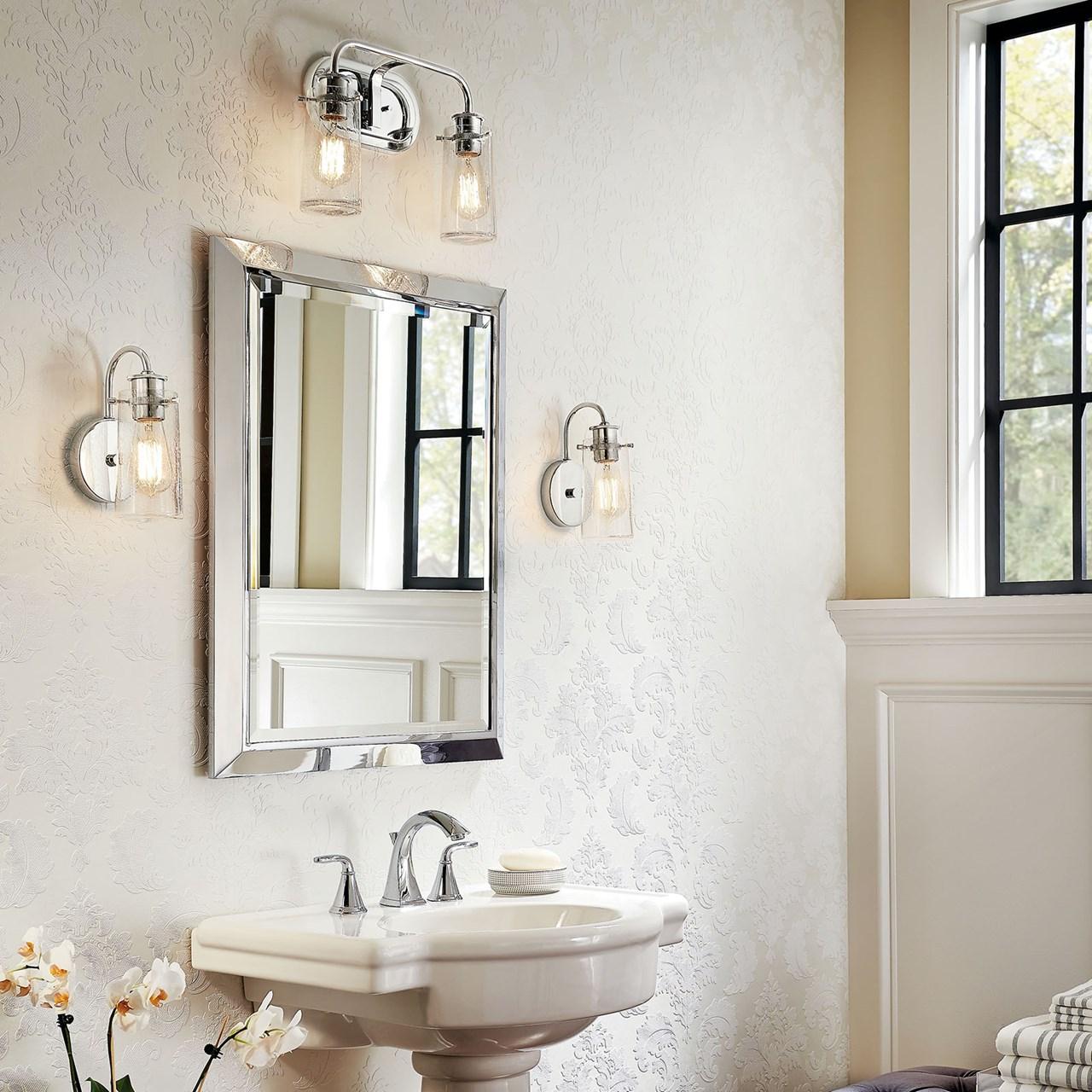 Www Kichler: Braelyn 2 Light Vanity Light Olde Bronze®