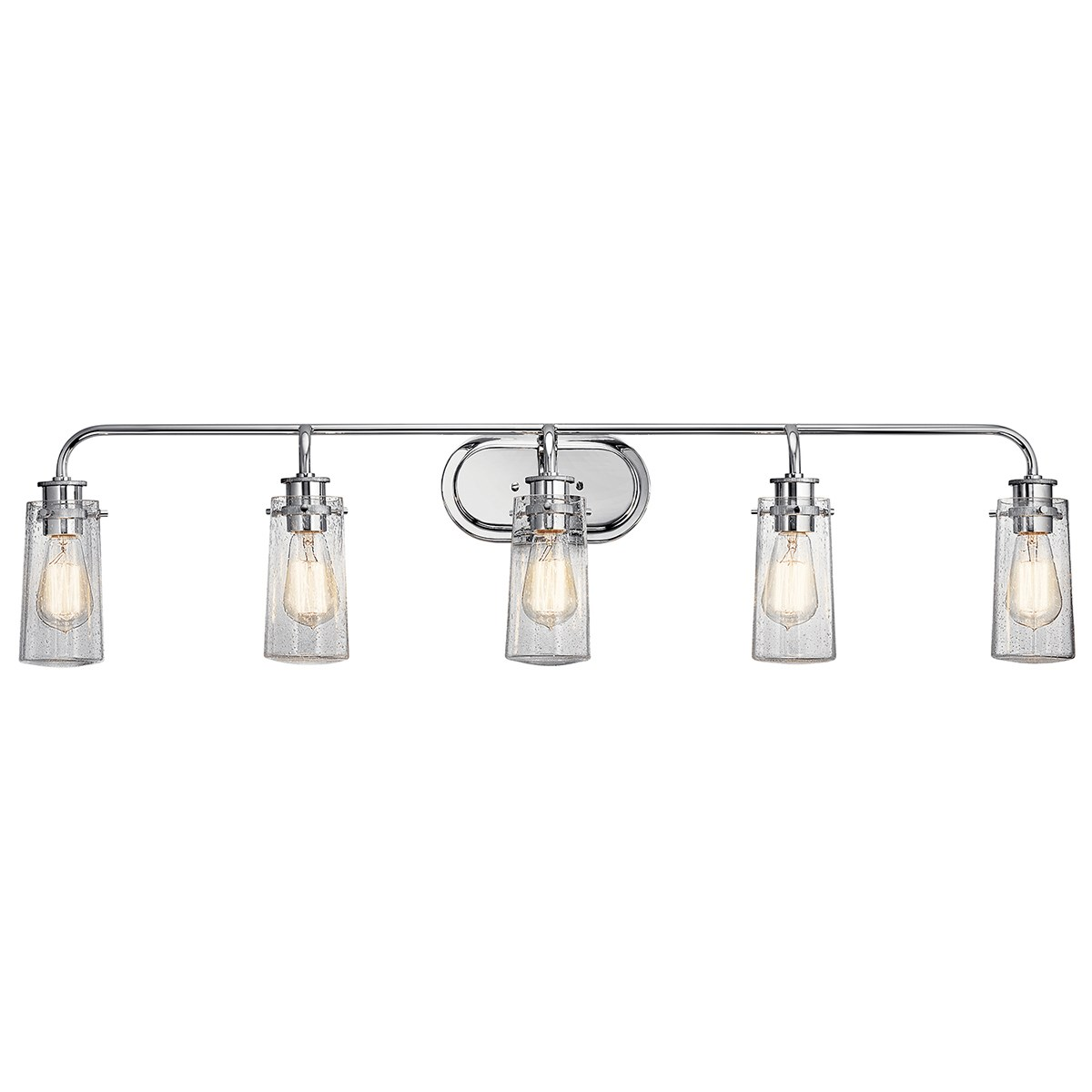 Braelyn 5 Light Vanity Light Chrome