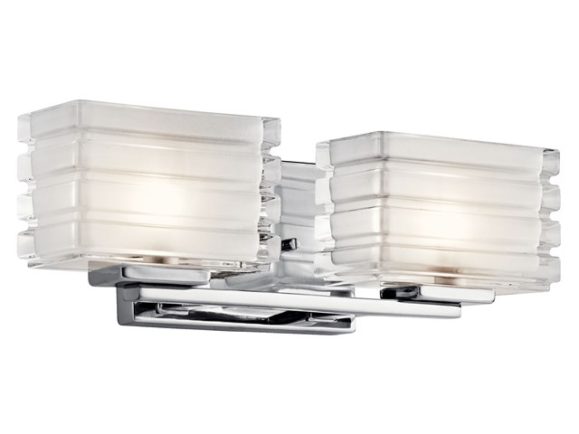 Bazely™ 2 Light Halogen Wall Sconce CH CH