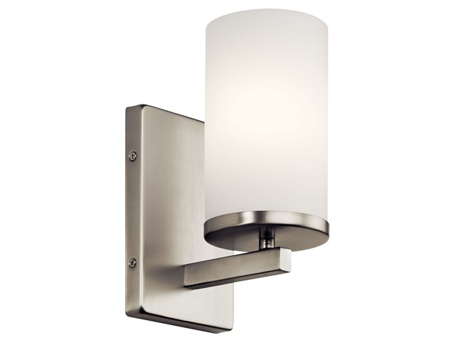Crosby™ 1 Light Wall Sconce Brushed Nickel