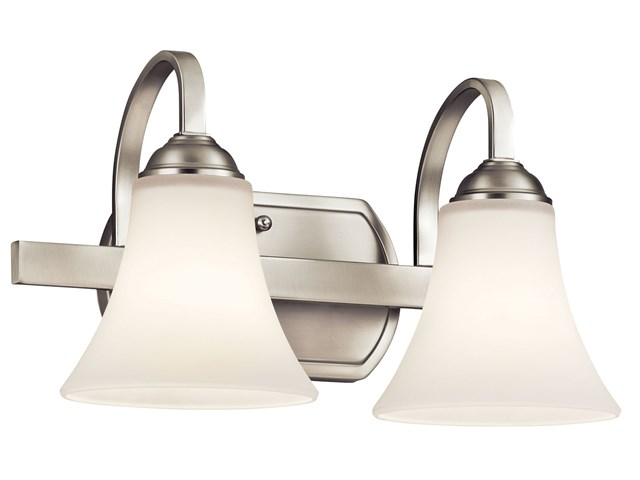 Keiran™ 2 Light Vanity Light Brushed Nickel