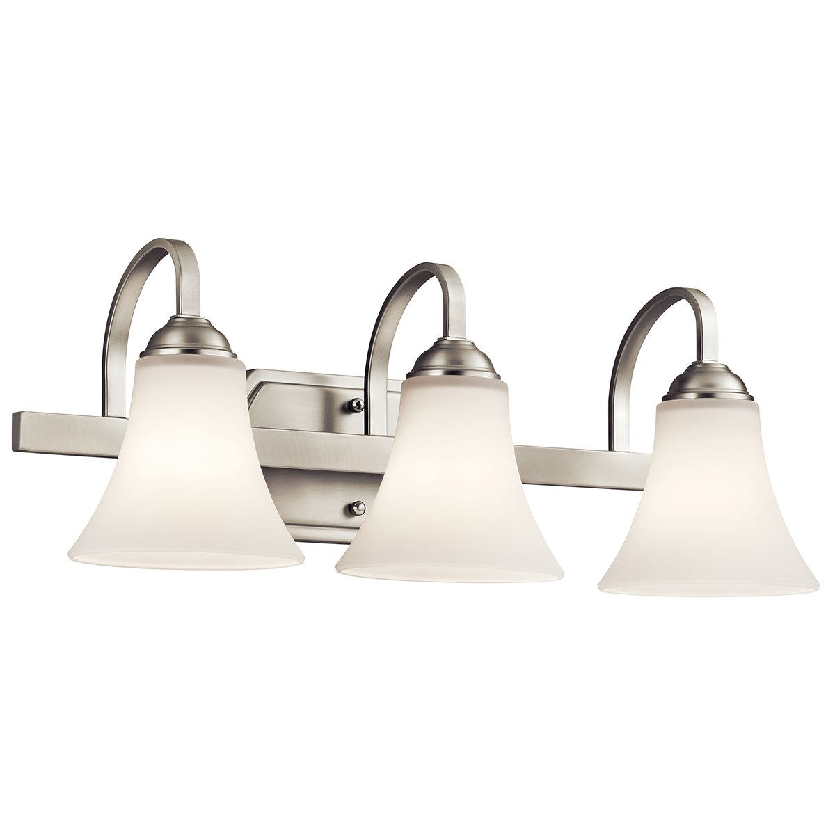 Keiran™ 3 Light Vanity Light Brushed Nickel