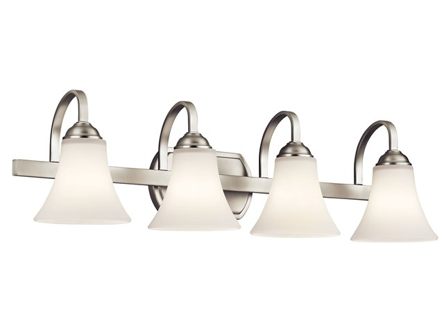 Keiran™ 4 Light Vanity Light Brushed Nickel