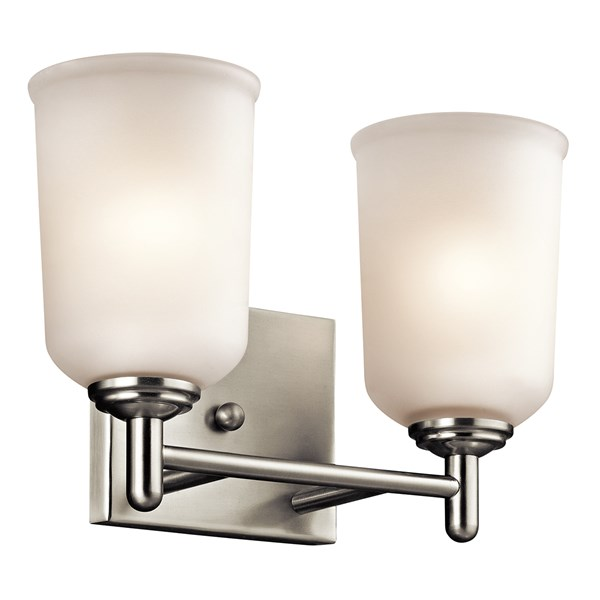Shailene™ 2 Light Vanity Light Brushed Nickel