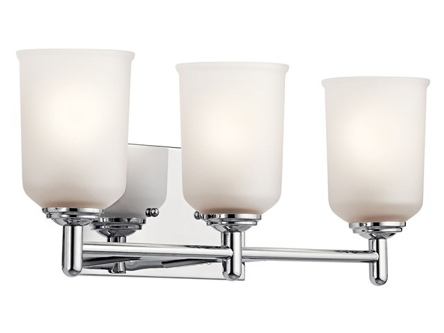 Shailene™ 3 Light Vanity Light Chrome