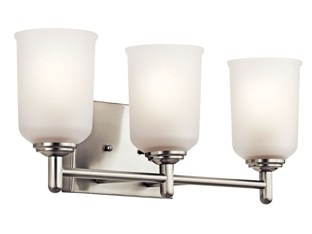 Shailene™ 3 Light Vanity Light Brushed Nickel
