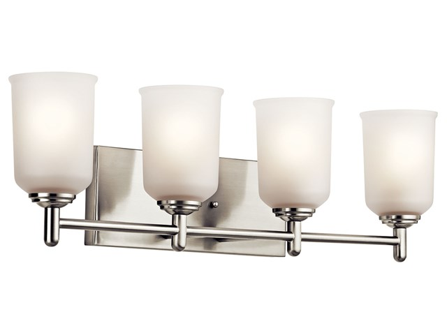 Shailene™ 4 Light Vanity Light Brushed Nickel