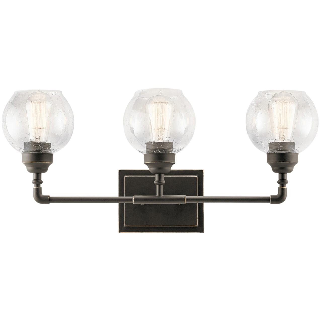 Niles 3 Light Vanity Olde Bronze Kichler Lighting
