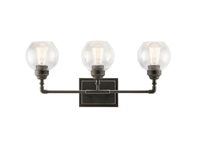 Niles 3 Light Vanity Light Olde Bronze®