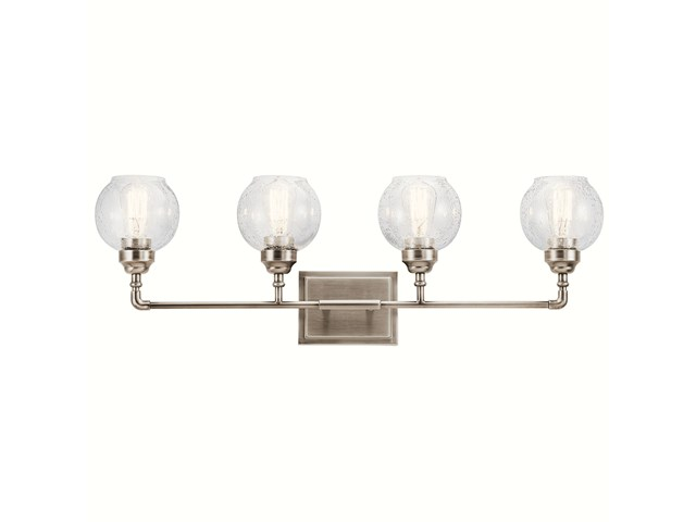 Niles 4 Light Vanity Light Antique Pewter