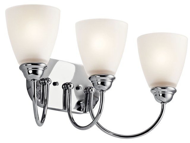 Jolie™ 3 Light Vanity Light Chrome