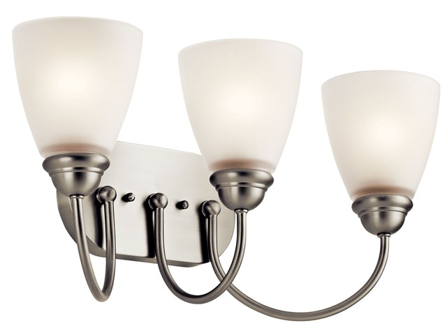 Jolie™ 3 Light Vanity Light Brushed Nickel