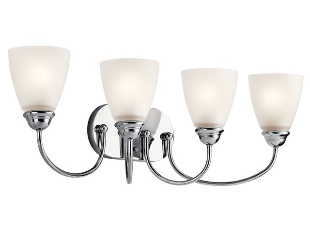 Jolie™ 4 Light Vanity Light Chrome