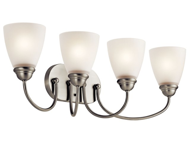 Jolie™ 4 Light Vanity Light Brushed Nickel