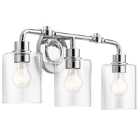 "Gunnison™ 24"" 3 Light Vanity Light Chrome"