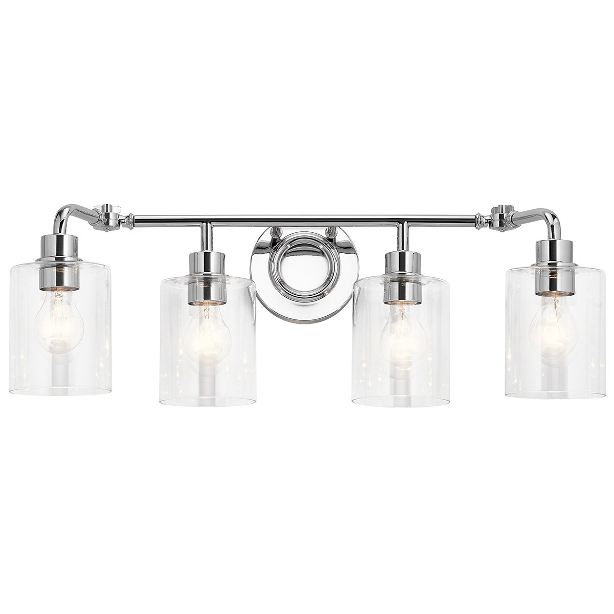 "Gunnison 33.75"" 4 Light Vanity Light Chrome"