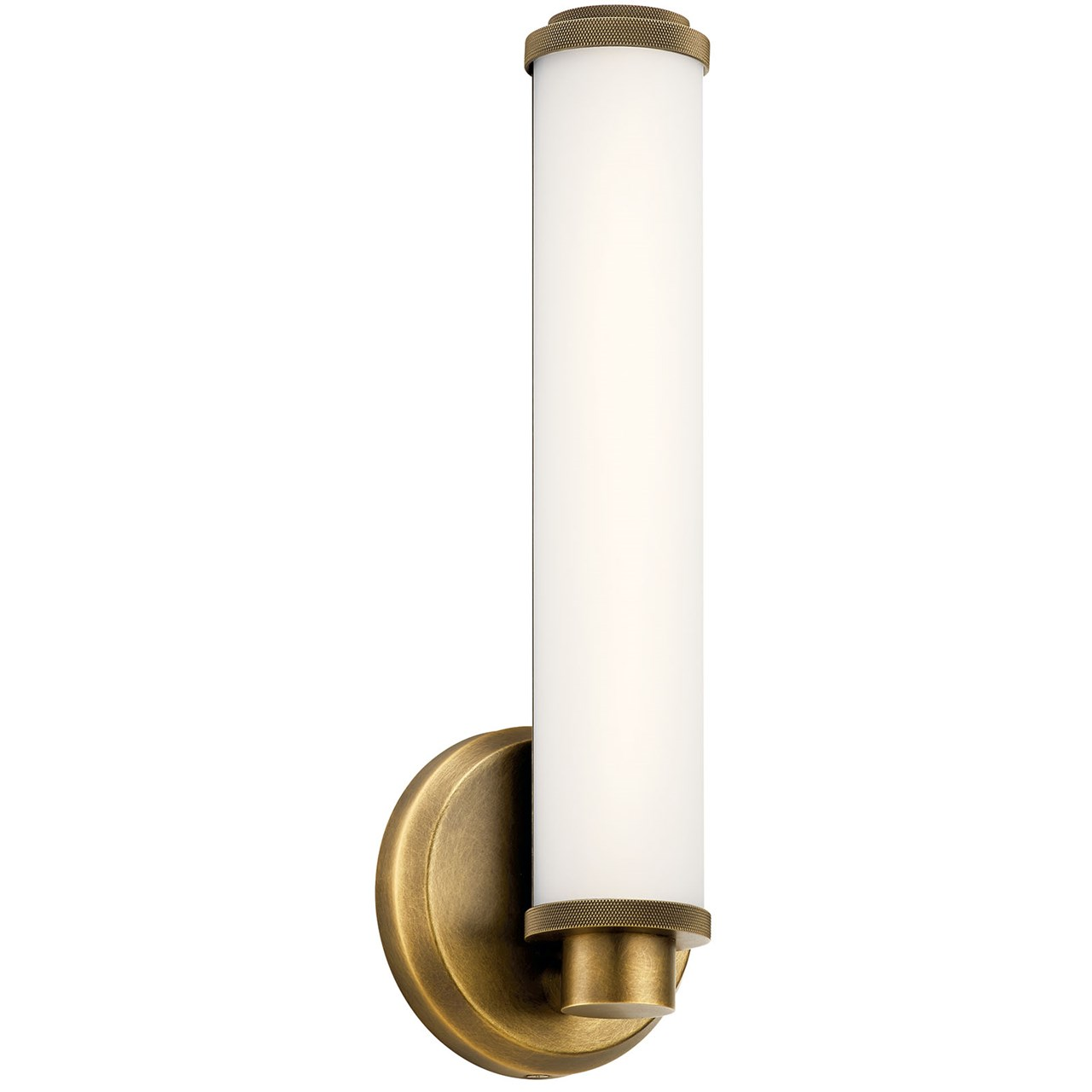 Indeco 1 Light LED Wall Sconce Natural Brass