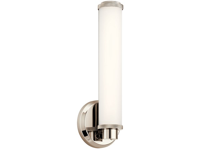 Indeco™ 1 Light LED Wall Sconce Polished Nickel