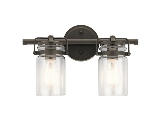Brinley™ 2 Light Vanity Light Olde Bronze®