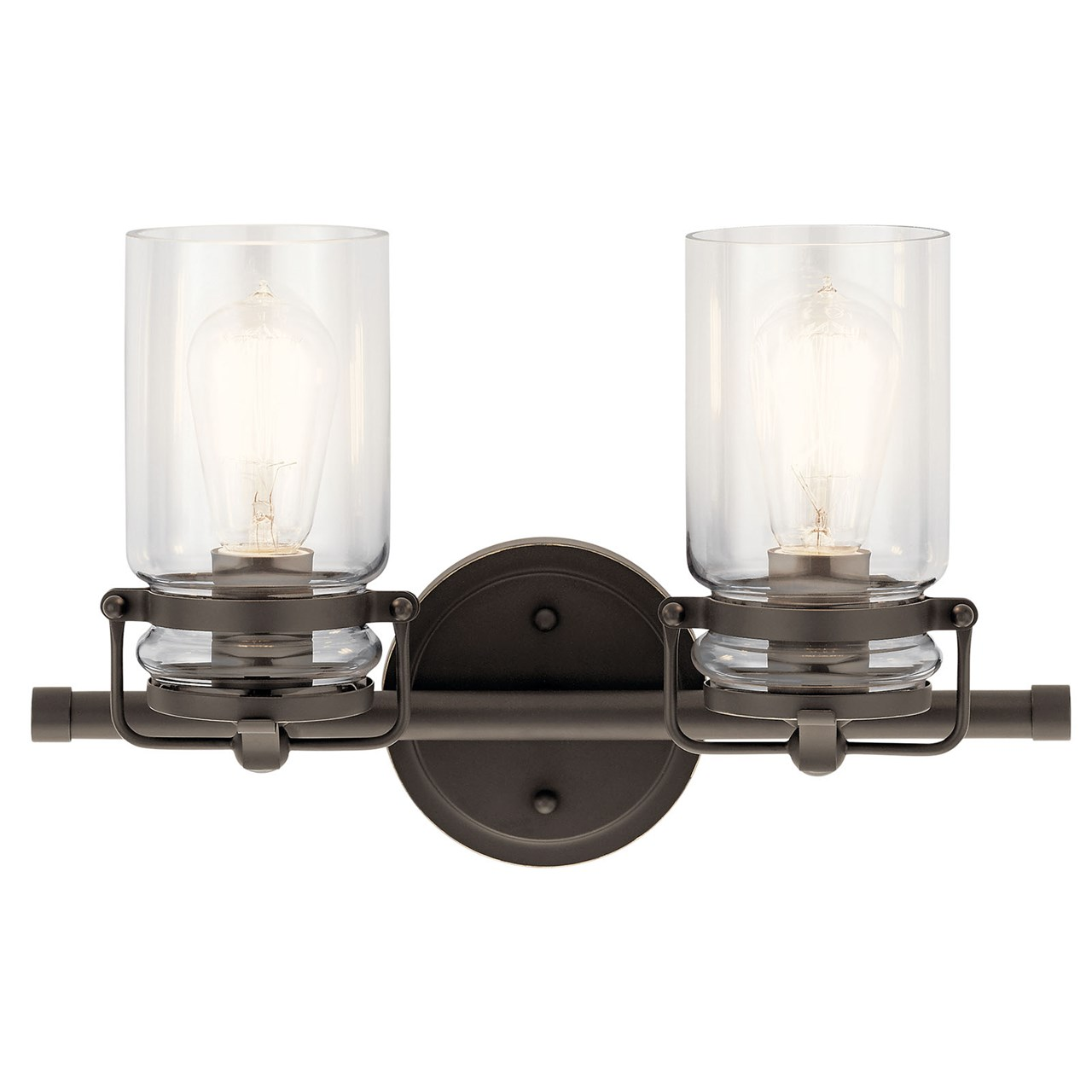 Brinley 2 Light Vanity Light Olde Bronze®