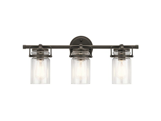 Brinley™ 3 Light Vanity Light Olde Bronze®